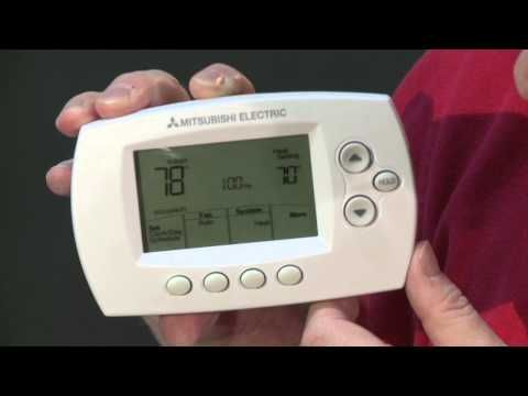 How To Install The Honeywell Mhk1 Controller Mitsubishi Electric