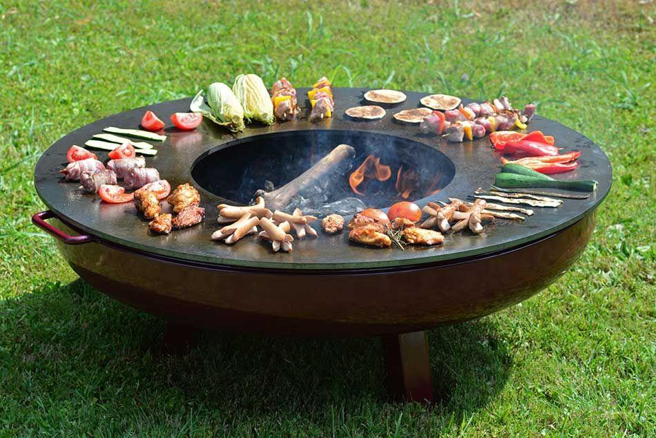 Barbecue da giardino outdoor forni cucine bbq - Barbecue da giardino a legna ...