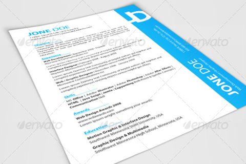 unlimited-resume-pack Cool Creative CV\u0027s Pinterest Vector