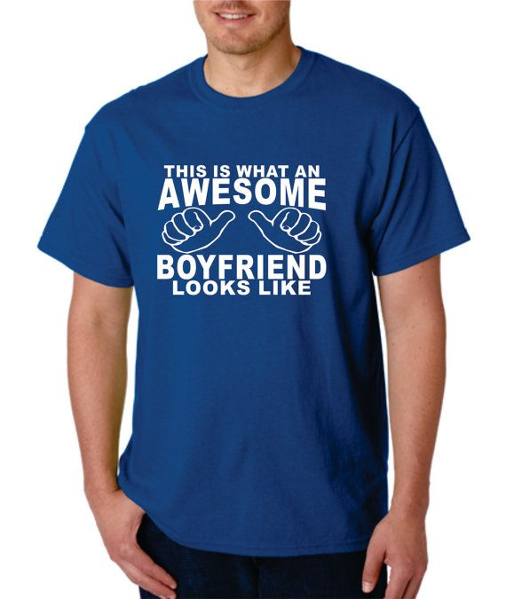 Boyfriend Gift T shirt tshirt This is What an by Designs2Express
