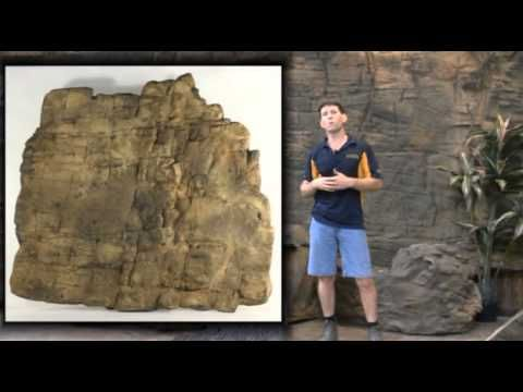 Adding Artificial Rock Wall Panels to Your Home, Patio or Pool - YouTube