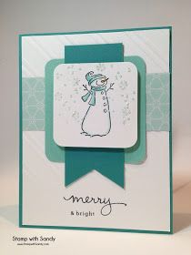 Stamp with Sandy: Merry Snowperson, MOJO414, CCC29, RRCB22, NBUS5
