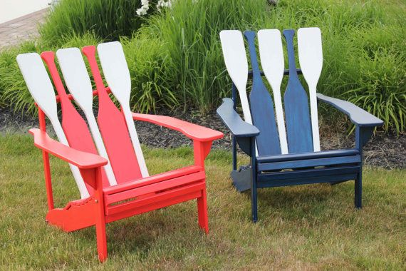 Boat Oar Adirondack Could Be Made Using Old Pallets With
