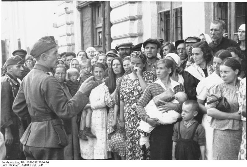 Лето 1941-го в немецких фотографиях
