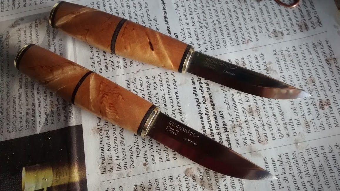 Curly Birch Mora Scandinavian Knives Unique Items Products Scandinavian Bushcraft Knives