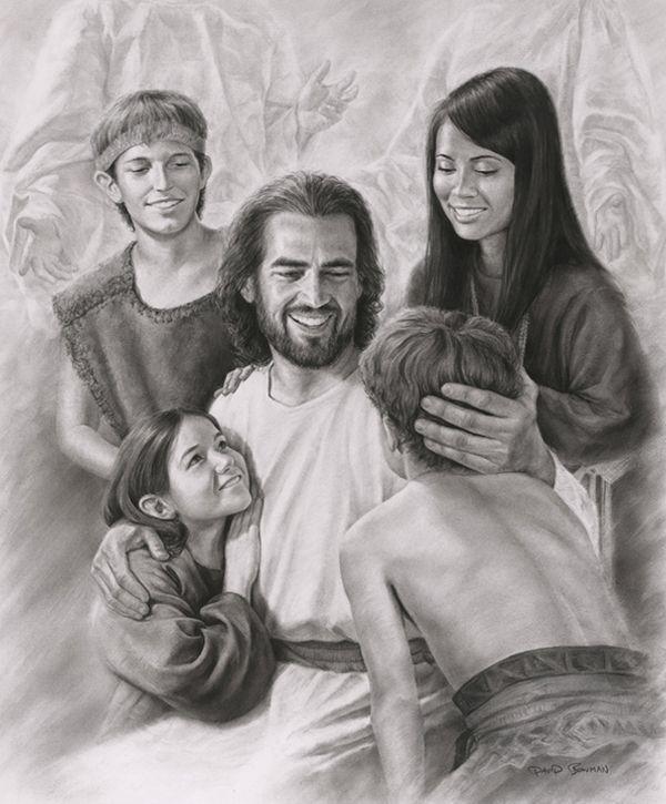Image result for laughingwith children Imagen de cristo Imágenes de