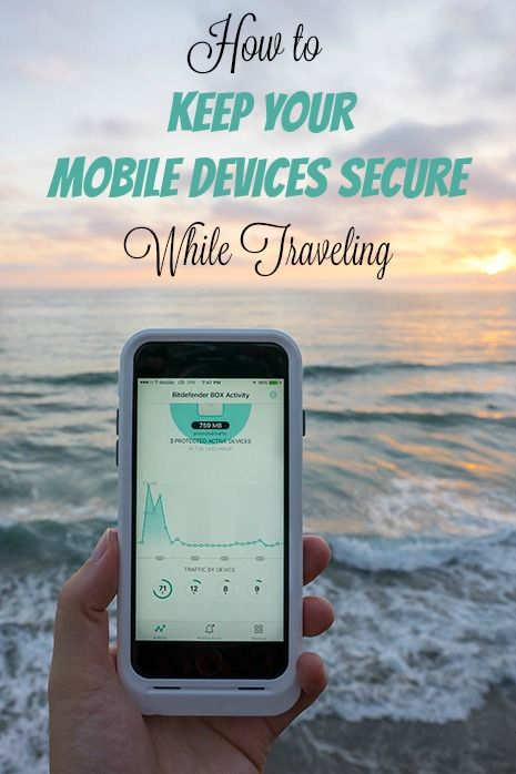 How to Keep Your Mobile Devices Secure While Traveling