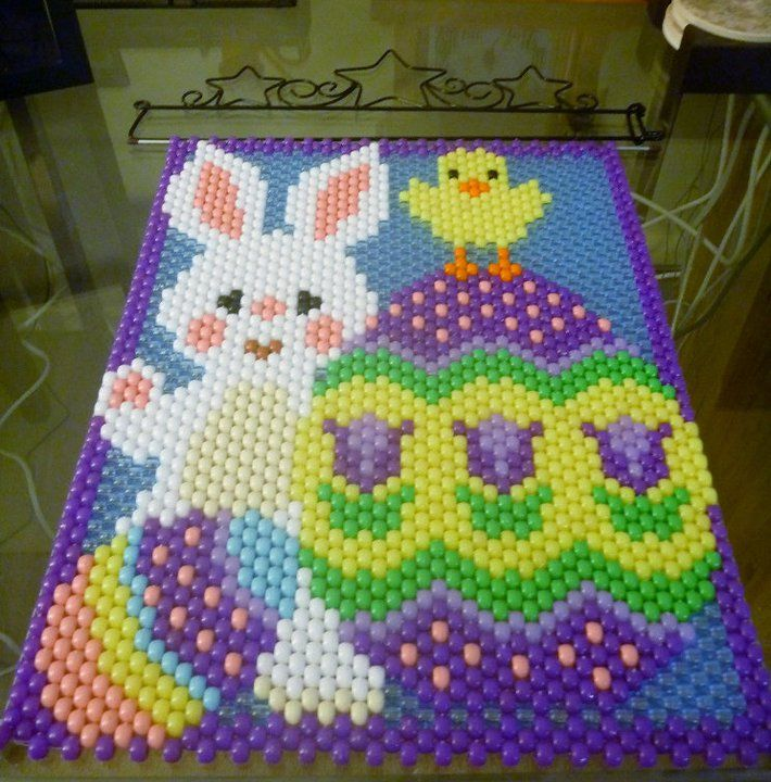 BIRTHDAY PARTY PONY BEAD BANNER PDF PATTERN ONLY