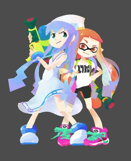 Nintendo Releases Squid Girl Costumes For Splatoon Game In U S News Anime News Network Splatoon Squid Girl Splatoon Squid