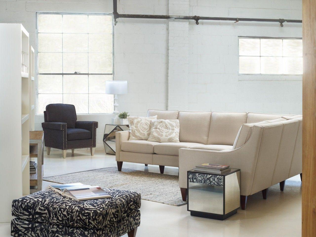 Room · Homeware Peyton Sectional Living Room Set In Cream