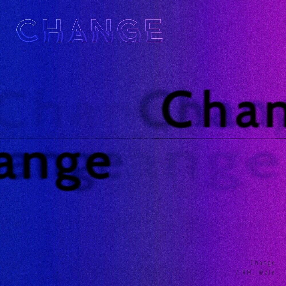Change By Rm X Wale Bts Album Covers Pinterest Rap Monster