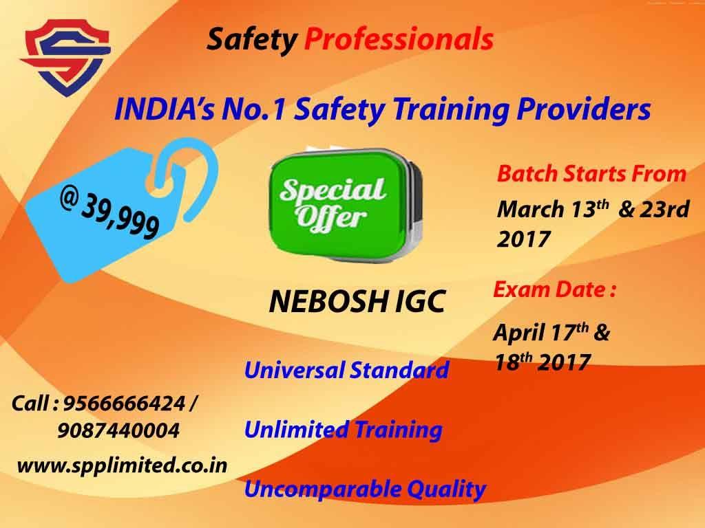 Nebosh Safety Course In Chennai