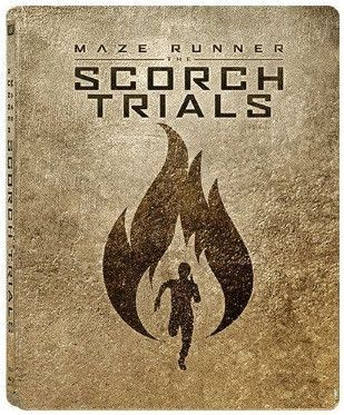 Maze Runner: The Scorch Trials 移動迷宮:焦土試煉 (2015) (Blu Ray) (Steelbook) (English Subtitled) (Hong Kong Version)