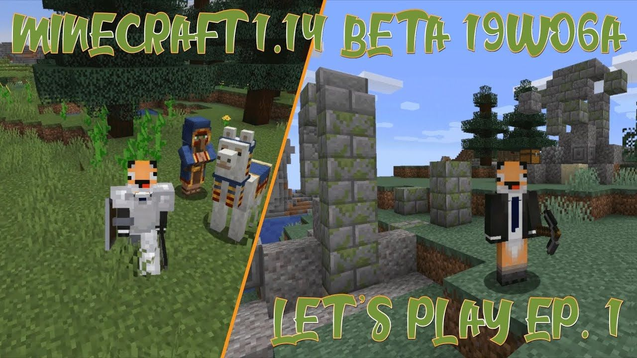 Well Looky What We Found Minecraft 1.14 Beta 19w06a