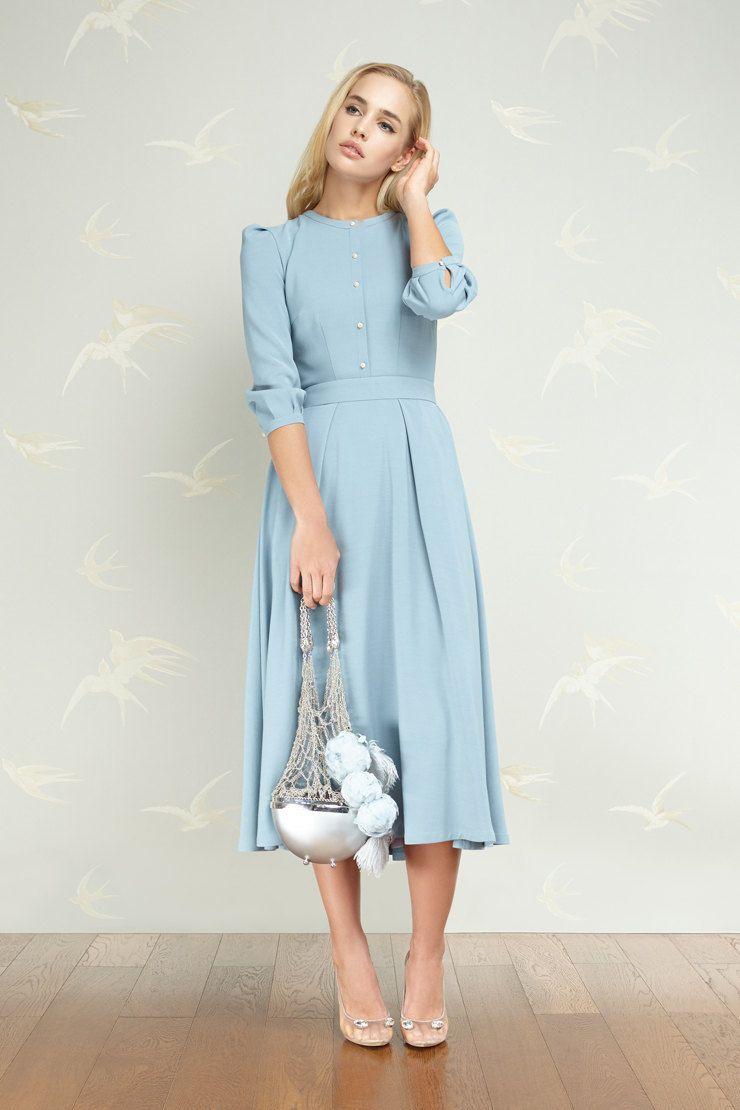 Девушка-весна: юбки-колокольчики и жемчужные авоськи Ulyana Sergeenko   Журнал Harper's Bazaar