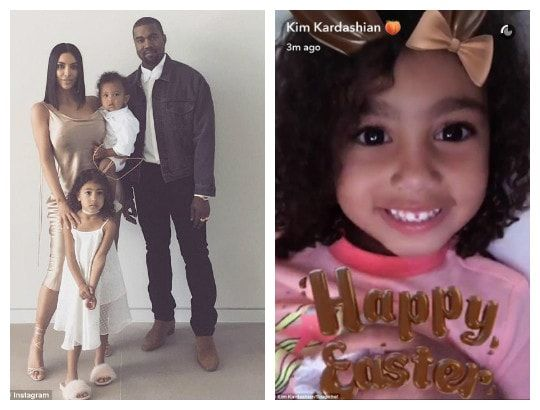 Happy Easter from the Wests! Kim Kardashian shares adorable family photos http://ift.tt/2oCMrIZ