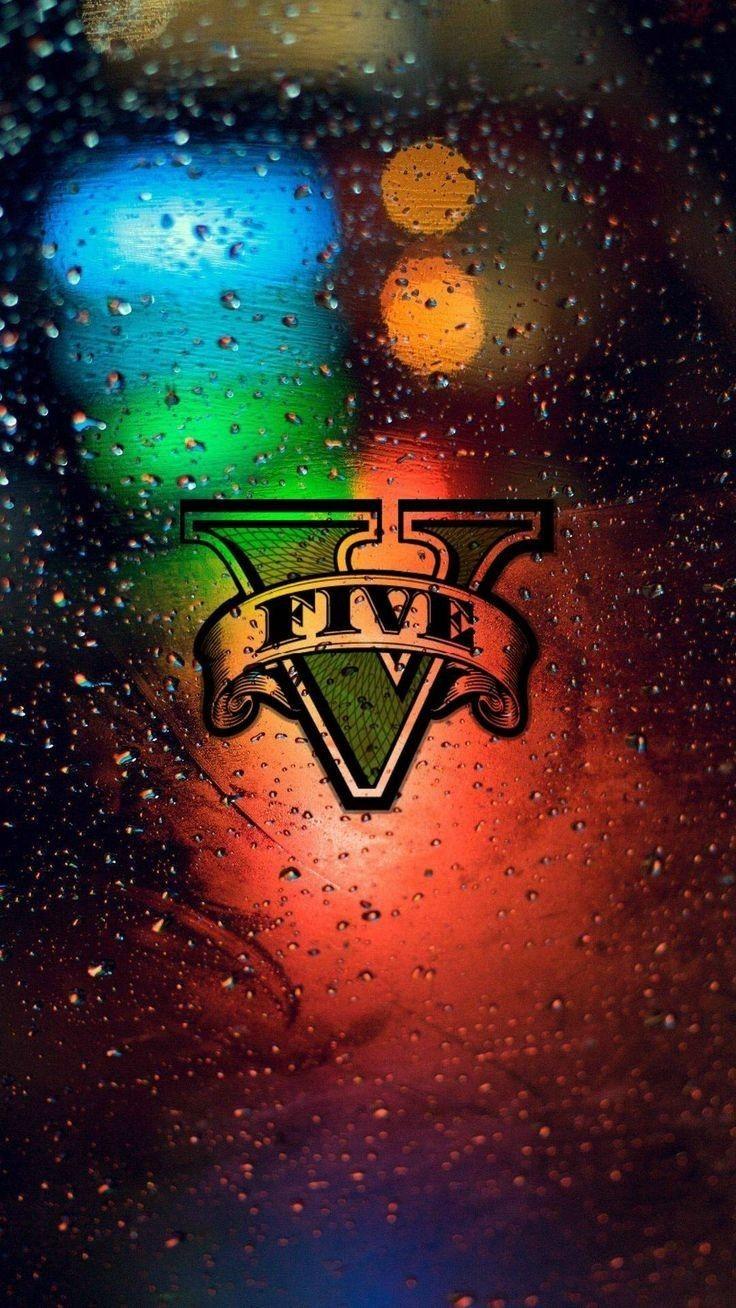 GTA V Grand Theft Auto in 2020 Rockstar games logo