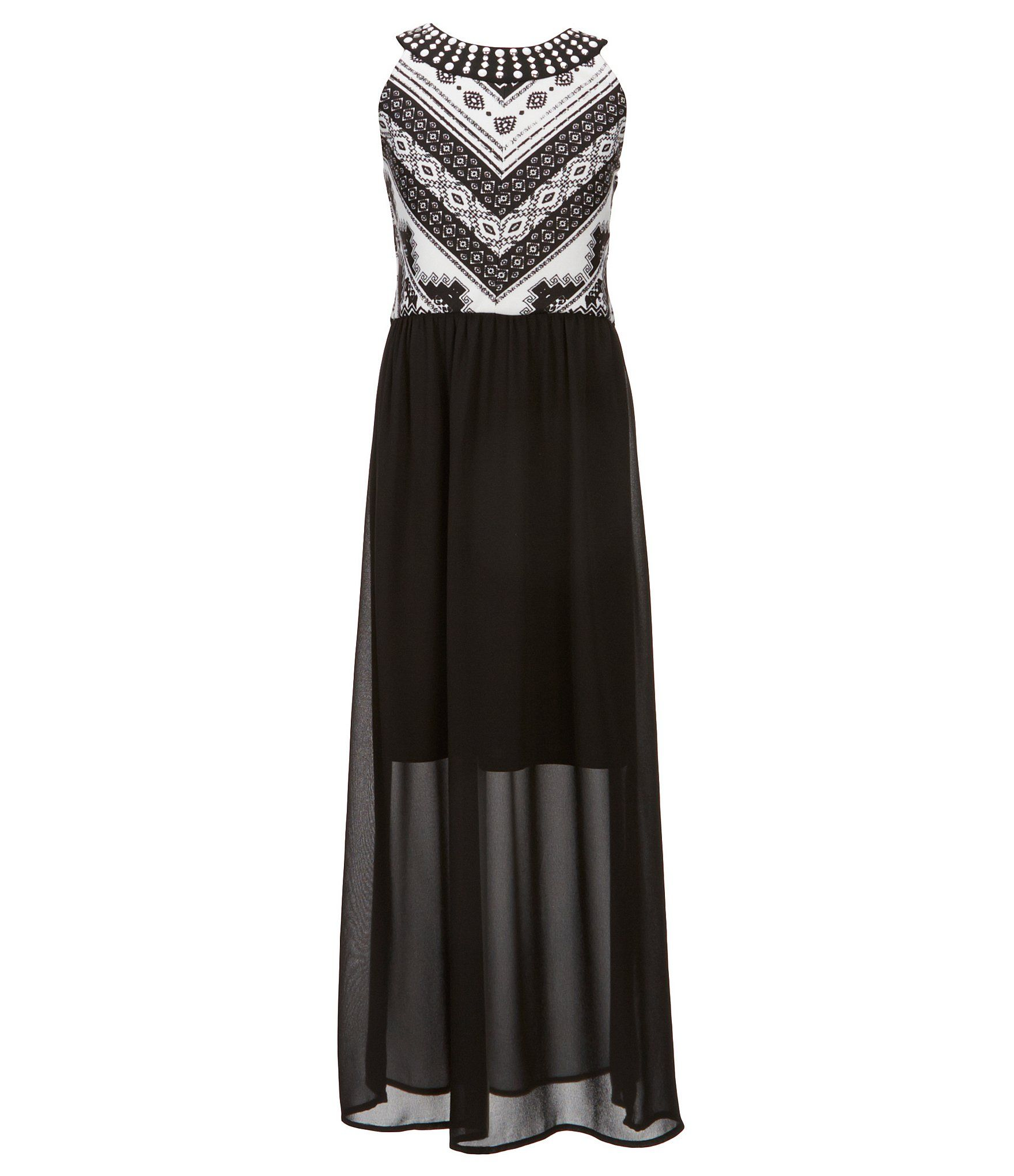 fd184e5e0 Shop for I.N. Girl Big Girls 7-16 Beaded-Neck Maxi Dress at Dillards.com.  Visit Dillards.com to find clothing, accessories, shoes, cosmetics & more.