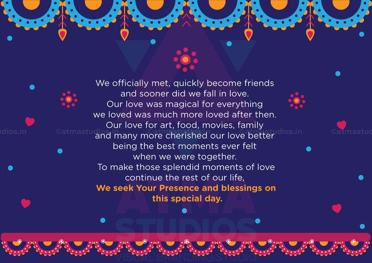 Vivid wedding invite design by atma studios coimbatore tamil vivid wedding invite design by atma studios coimbatore tamil nadu india stopboris Gallery