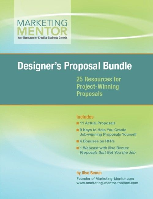 Proposal Bundle for Designers 25 Resources for Project-Winning - business proposals samples