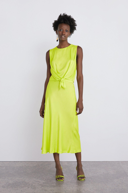 satin skirt - dress time-woman-corner shops | zara united