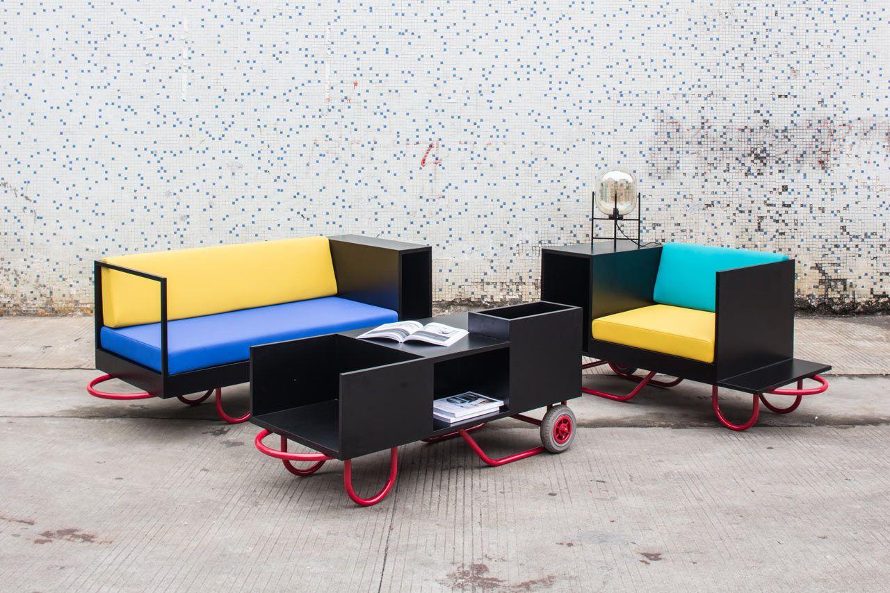 Merveilleux Flexible, Movable Furniture Inspired By Hand Trucks   Design Milk