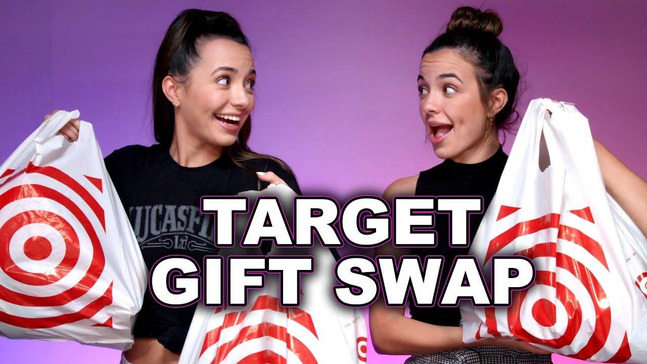 Target Gift Swap Challenge Merrell Twins Swap Gifts Target Gifts Friend Challenges