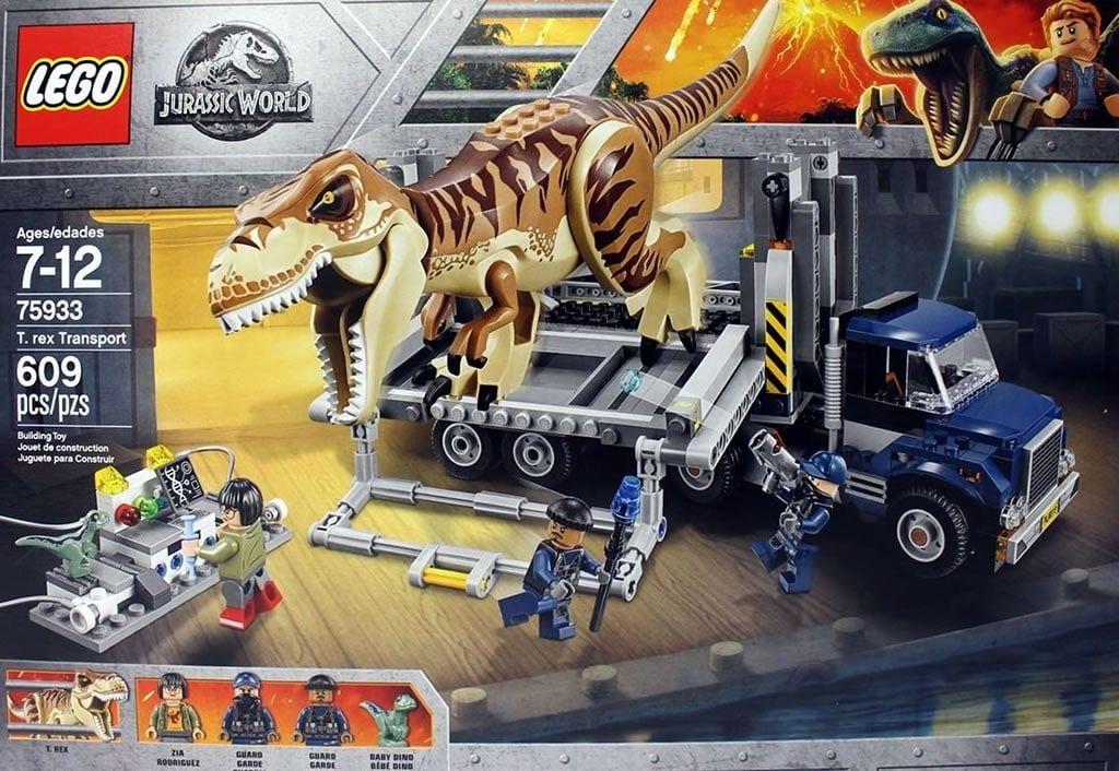 Lego Jurassic World 75933 T Rex Transport Premiers Visuels Le Contenu Du Set 75933 T Rex Transport Juguetes De Jurassic World Parque Jurasico Jurassic World