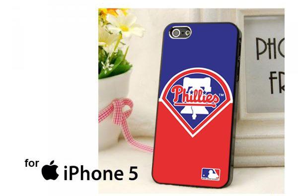 PhiladelphiaPhilliesLogoMLB Case for iPhone 4/4S/5/5S/5C,Samsung Galaxy S2/S3/S4 - PDA Accessories