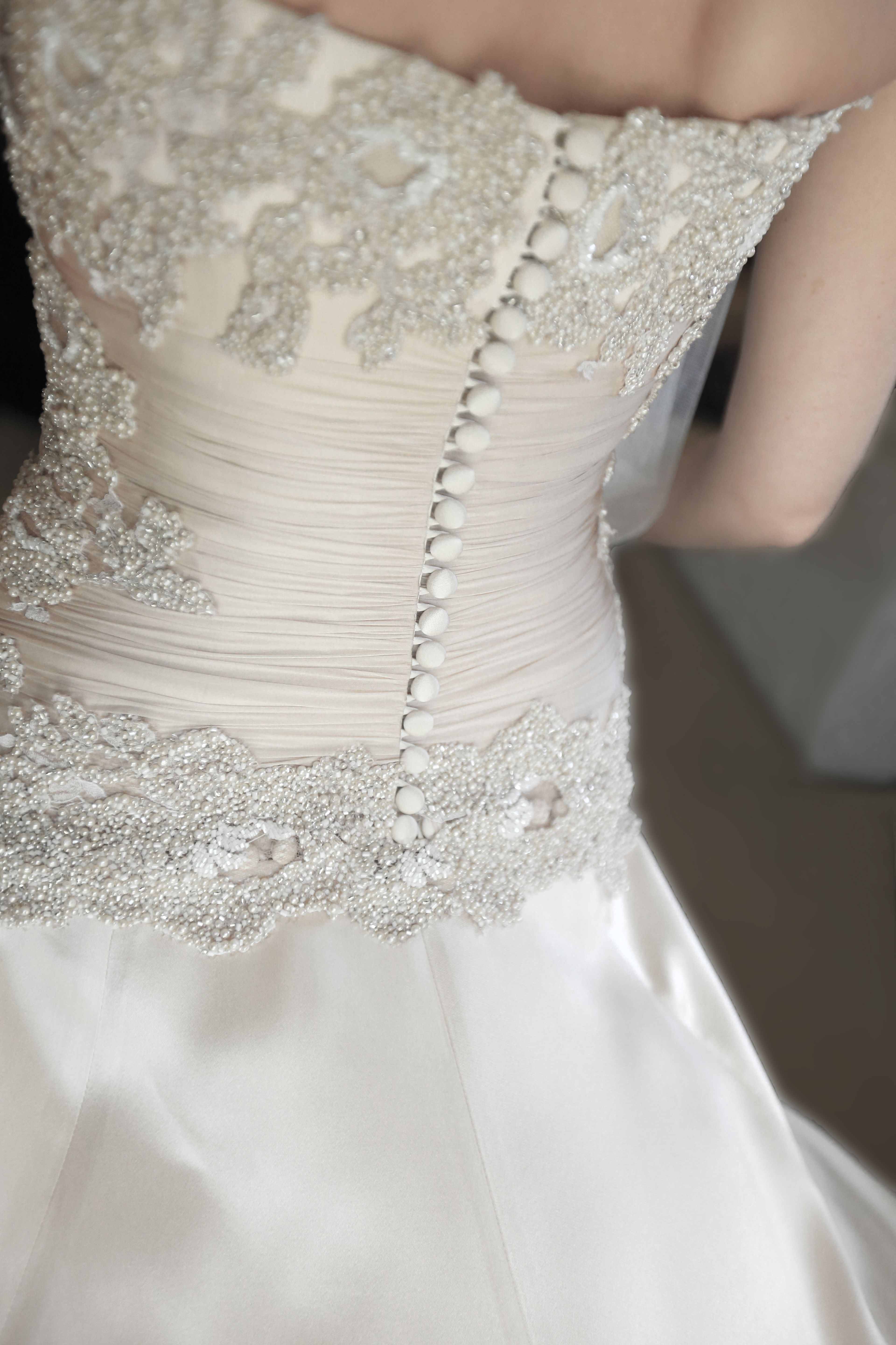 Bridal gown - Detailed draping and b… | VP Couture Bride ...