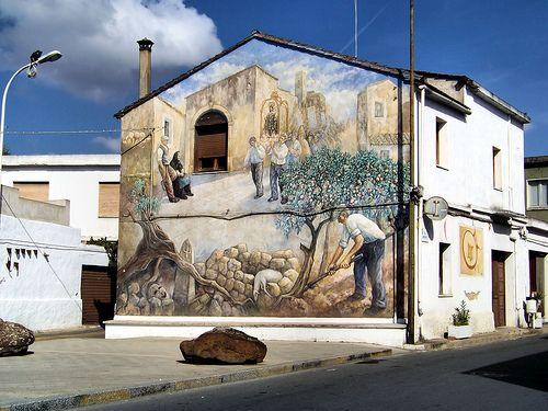 Il paese dei murales Sardegna   #TuscanyAgriturismoGiratola