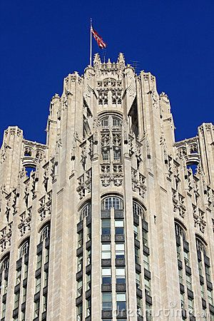 Architecture Buildings In Chicago neo-gothic architecture in chicago -- tribune tower | architecture