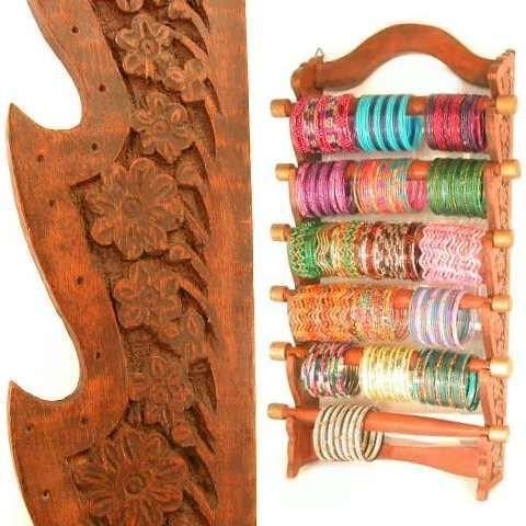WALL HANGING Bangle Necklace Stand Bracelet Display Holder Indian