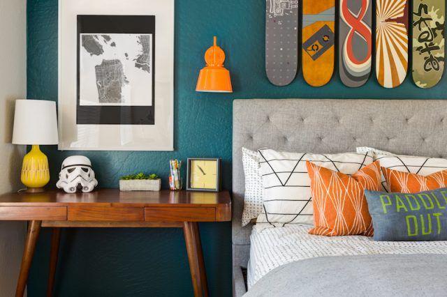 Chambre bleu canard avec quelle couleur ? Accords classe et idées ...