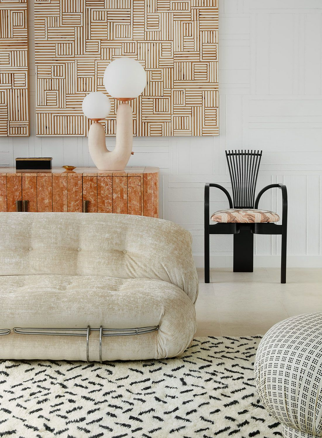 Photo of Modern Sophisticated Meets Kelly Wearstler In The 80's — Modern Home Tour