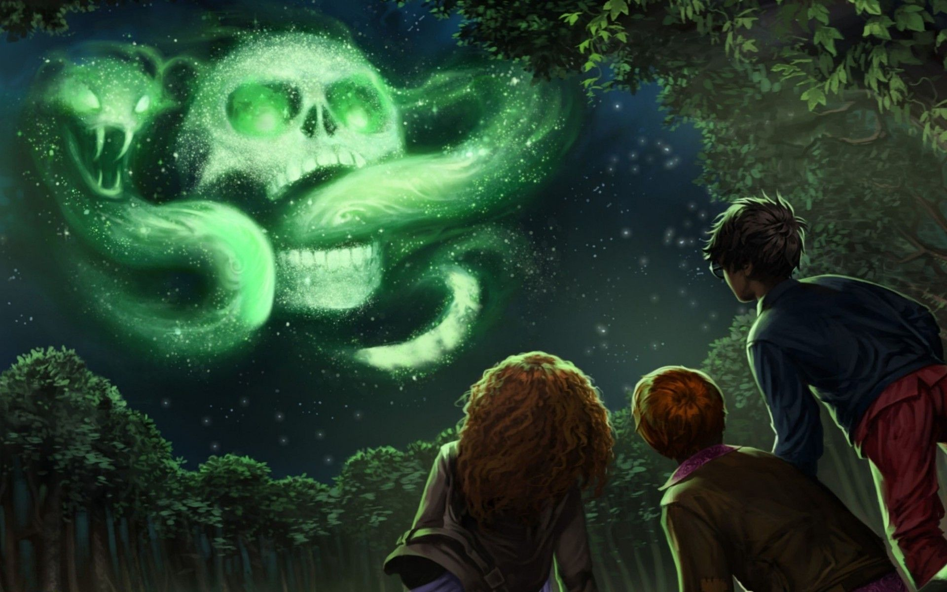 Res 1920x1200 Harry Potter And The Goblet Of Fire Skull