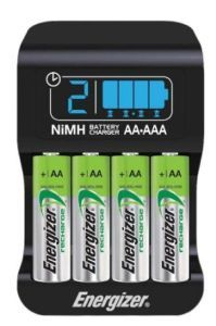 Flashlight Battery Pack Of The Day The Energizer Recharge Smart Aa Aaa Charger Flashlight Packs Nimh Battery Nimh Battery Charger Battery Charger