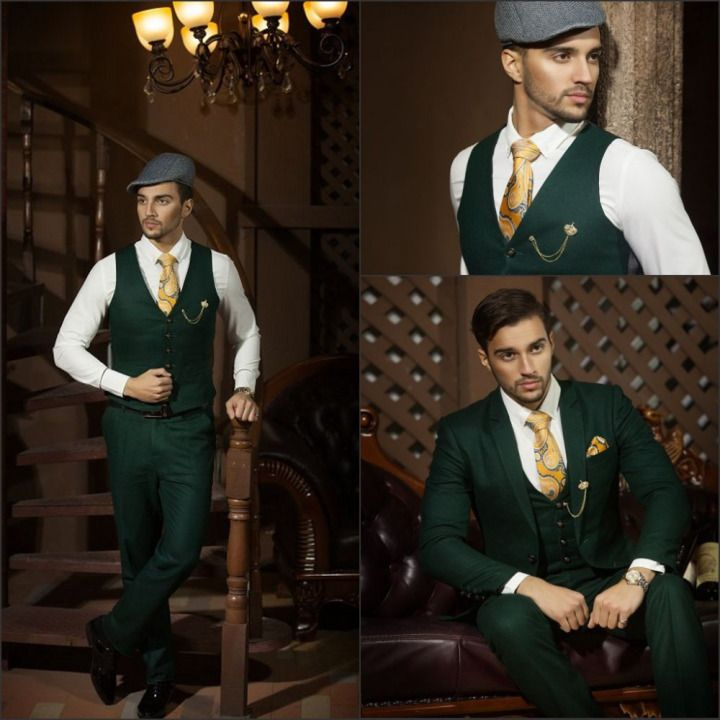 258bf323893 dark-green-custom-made-black-stripe-top-new-style-groom-tuxedos-men-for- wedding-formal-suits