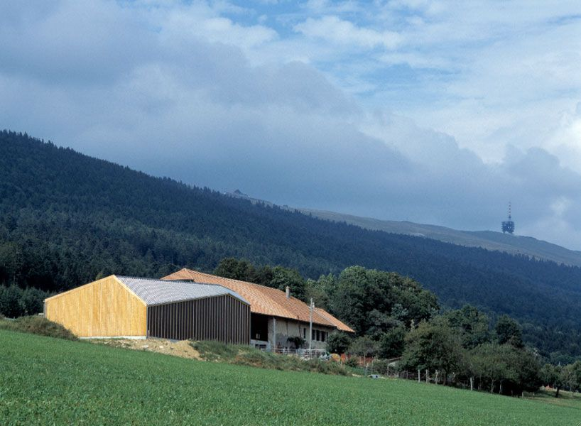 Localarchitecture Cow Shed Switzerland Cow Shed Architecture House