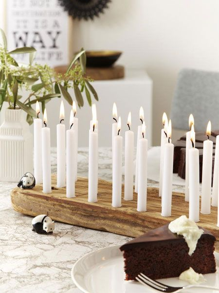 Kerzenhalter gestalten: Anleitung fürs Lichterbrett