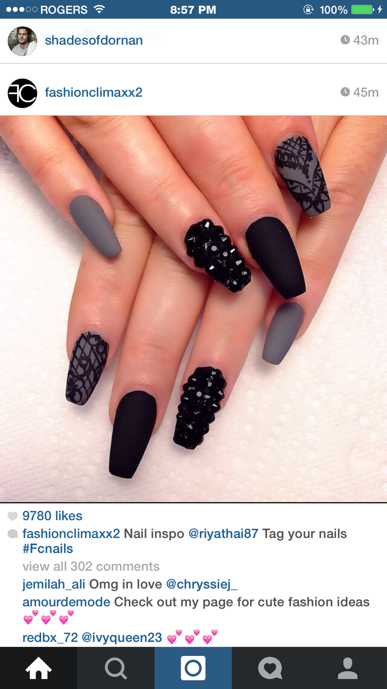 Pin by Liana Ramirez on Hair   Pinterest   Matte nails, Nail nail ...