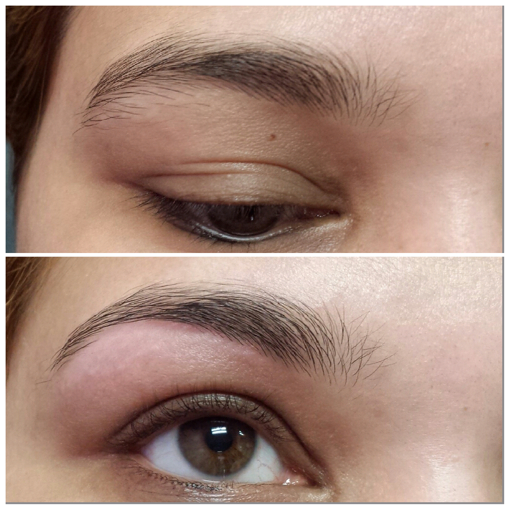 before and after threading face - Google Search The ...