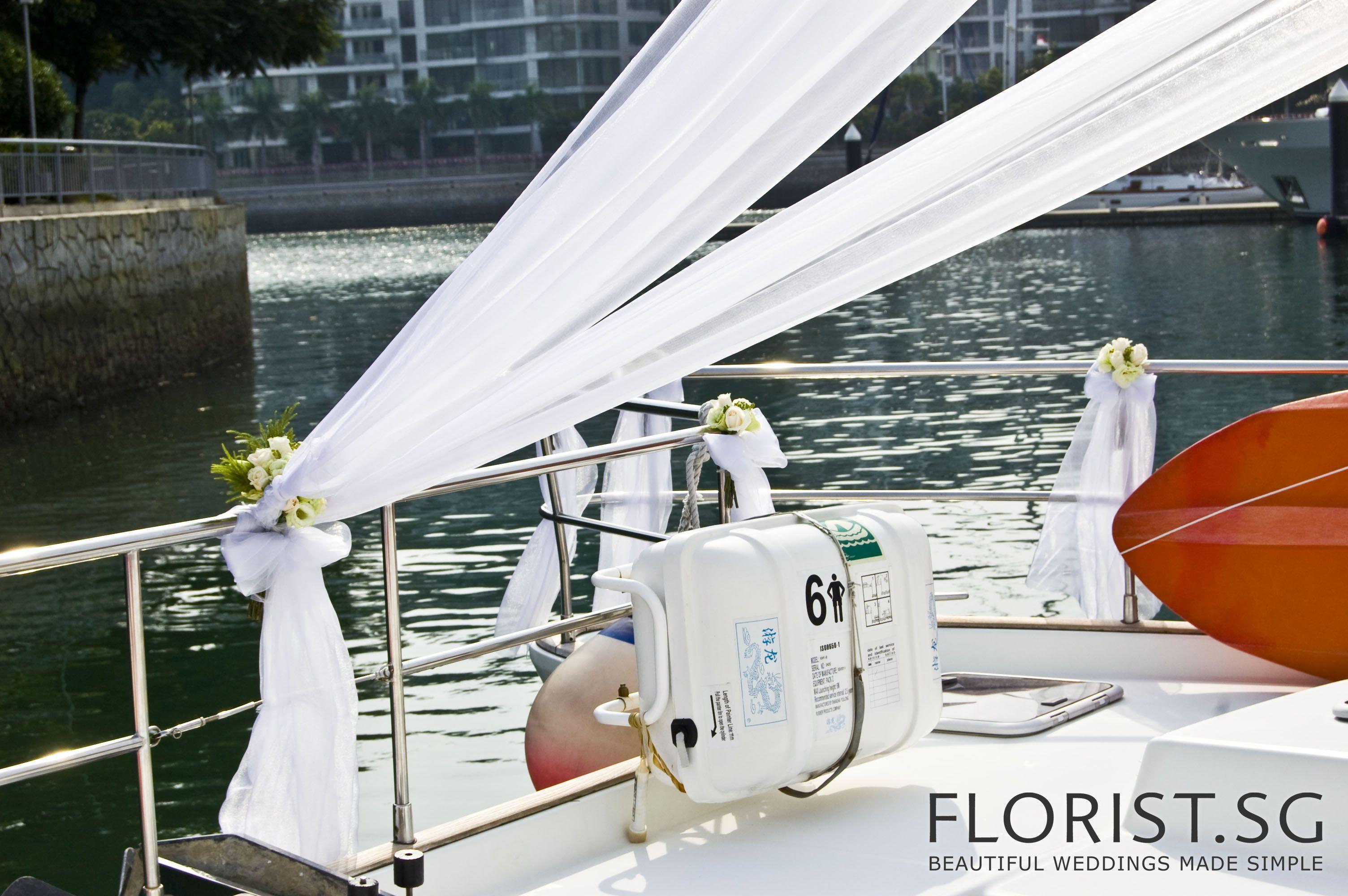 Florist Sg Beautiful Weddings Made Simple Boat Wedding