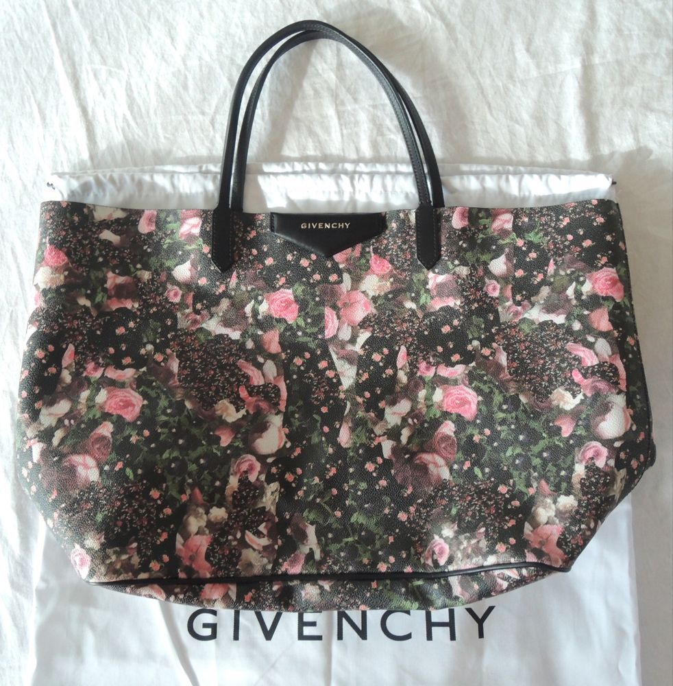 ~ AUTHENTIC GIVENCHY FLORAL PRINT ANTIGONA TOTE / BAG (SO SOLD OUT!) ~  #GIVENCHY #TotesShoppers