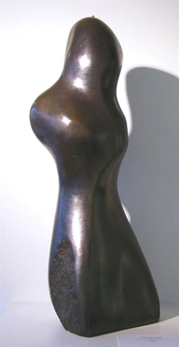 Bronze resin Abstract Contemporary or Modern Outdoor Outside