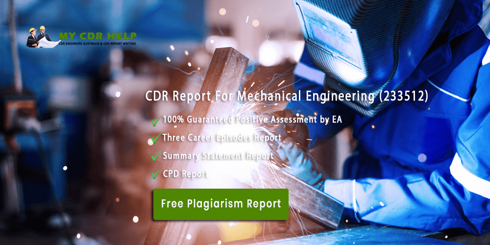 Career Episode 1 On Cdr Sample For Mechanical Engineer Mechanical Engineering Mechanical Engineering Degree Engineering Degrees