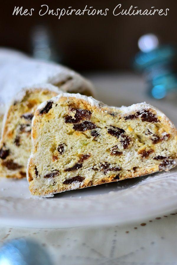 Le Stollen, brioche alsacienne de noël | Le Blog cuisine de Samar #stollenalsacien Le stollen brioche alsacienne pour Noel #stollenalsacien