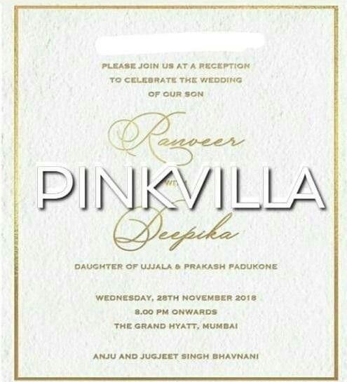 Ranveer Singh-Deepika Padukone Wedding: Only We Got It ...