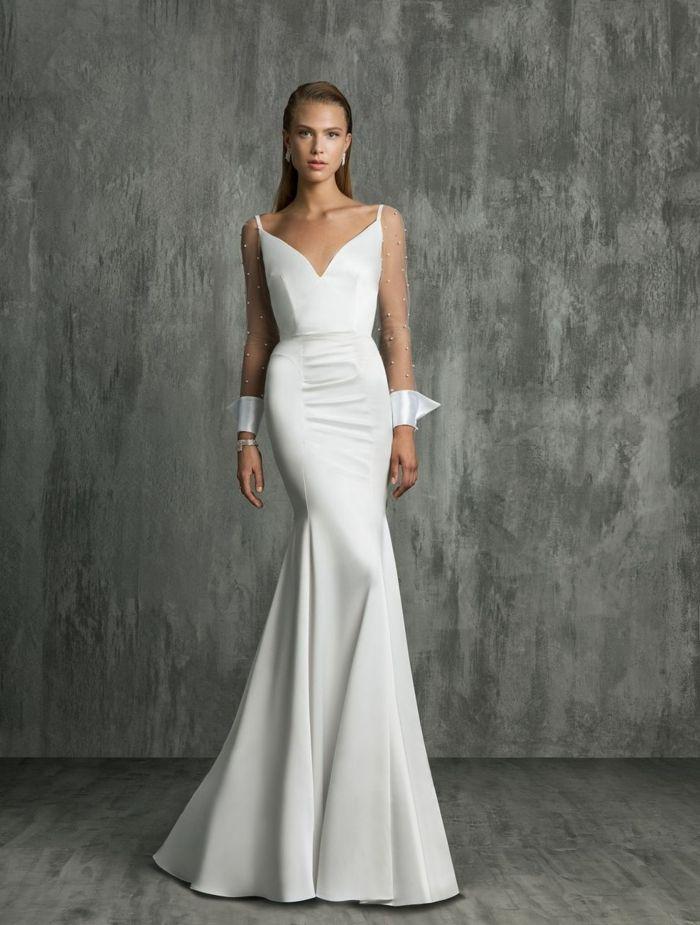 ▷ 1001 + ideas de vestidos de novia sencillos para tu boda | Weddings