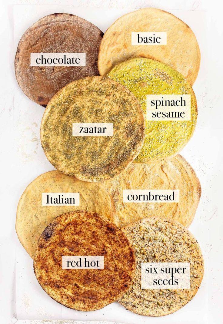 Quinoa Flatbread - Monkey and Me Kitchen Adventures - -
